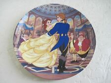 Disney Beauty and The Beast THE SPELL IS BROKEN Collector Plate 12th
