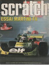SCRATCH 1975 33 TOUR AUTO MARTINI MK16 GP USA FORMULE RENAULT EUROPE F2 ROME NOG