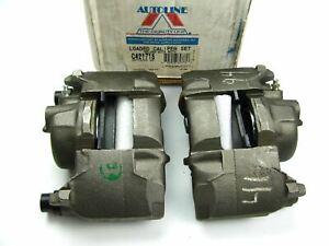 Reman. Autoline C421718 FRONT Brake Caliper Set With Brake Pads
