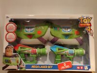 Toy Story 4 Space Ranger Kids Mega Laser Set Buzz Light-Year Lights and Sounds