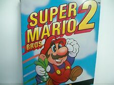 D0503992 SUPER MARIO 2 NES 100% WORKING BOX DUST COVER NINTENDO INSTRUCTIONS