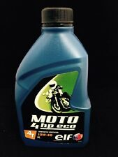 Elf Moto 4hp Eco 10w/40 Motorcycle Engine Oil 1 Litre 10w40 4T Bike Engine Oil