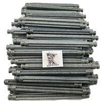 "200 Knex Gray Granite 3-7/16"" Standard Rods Screamin' Serpent K'nex Parts Lot"