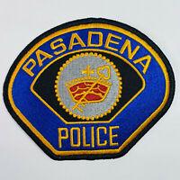 Pasadena Police California CA Patch (C4)