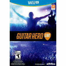 Guitar Hero Live (Game Only) (Nintendo Wii U) - NEW - FREE SHIPPING™