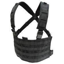 CONDOR MOLLE Modular Tactical Nylon OPS Chest Rig Vest mcr4  BLACK