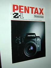 PENTAX  Z1 catalogue publicitaire photographie photo