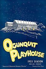 "Rodgers & Hammerstein ""CAROUSEL"" Barbara Cook / Scott Merrill 1953 Playbill"