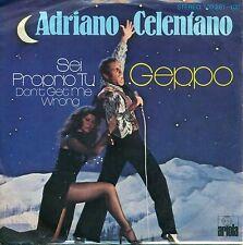 """CELENTANO - GEPPO / FUE PROPRIO TU 7"""" SINGLE (A 135)"""