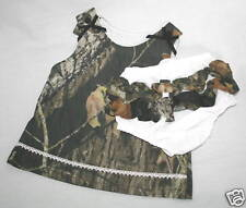 Mossy Oak Camo Baby Toddler Dress Ruffle Panties, Camouflage