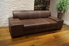 Echtleder Sofa Couch 100%  Echtes Leder Rindsleder Große Farbauswahl