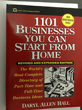 1101 Businesses You Can Start from Home by Daryl Allen Hall (Paperback, 1995)