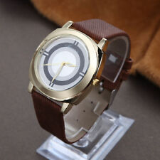 Ladies Fashion Classic Gold Quartz Brown Band Dress Wrist Watch.(Aussie Seller)