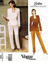 VOGUE Paris Original Misses' Jacket and Pants Montana Pattern 1885  6-10 UNCUT