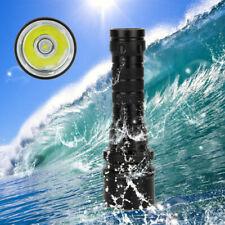 Diving XML L2 LED Flashlight Torch Underwater Light 18650 Battery 10000Lm Scuba