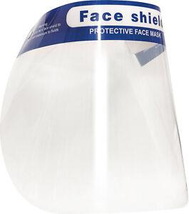 Face Shields Full Face Mask Visor Protection Mask PPE Shield Plastic Transparent