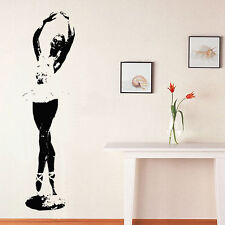 Wall Room Decor Art Vinyl Sticker Mural Decal Ballet Dance Women Ballerina FI333