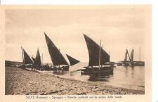 SILVI ( Teramo )   -  Spiaggia - Barche partenti per la pesca delle sarde