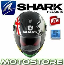 Shark Full Face Helmets with Integrated Sun Visor