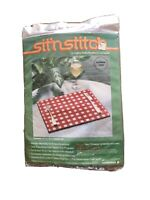 New Sit'n Stitch Placemats A Plastic Needlepoint Kit