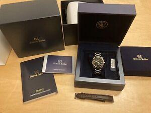 Grand Seiko Heritage Black Watch - SBGX261
