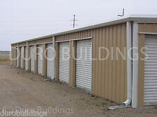 DURO Steel Mini Self Storage Kits 30x70x8.5 Metal Building Structures DiRECT