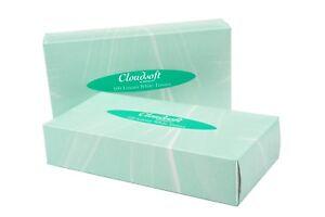 36 x BOXES ULTRA SOFT LUXURIOUS WHITE FACIAL FAMILY TISSUES 100 FIL 2PLY TISSUE