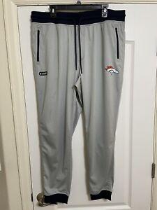 NEW Under Armour UA NFL Denver Broncos Columbine Sweatpants Size 2XL