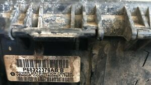 2017 Dodge Ram Pickup TIPM fuse junction box P68322376AB