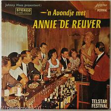 Annie de Reuver 'N Avondje Met RARE Telstar Festival LP Dutch Singer Johnny Hoes