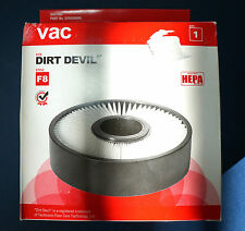 DIRT DEVIL HEPA STYLE F8 REPLACEMENT FILTER 2UD0280000  (NEW)