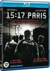 Le 15h17 pour Paris [Blu-Ray + Digital HD] - NEUF - V FRANÇAISE
