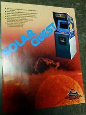 Cinematronics SOLAR QUEST flyer- good original