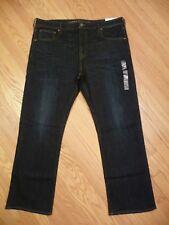 Mens NEW American Eagle Classic Boot Cut Extreme Flex Dark Denim Jeans 40 X 32