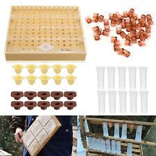 Beekeeping Box Queen Bee Rearing Cup Kit Beekeeper Equipment Tools Complete Set