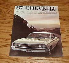 Original 1967 Chevrolet Chevelle Sales Brochure 67 Chevy