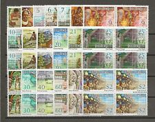 More details for papua new guinea 1973 sg 241/59 mnh blocks of 4 cat £30