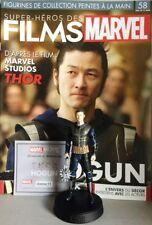 Marvel Movie Collection #58 Hogun Figurine (Thor) Eaglemoss revista French nuevo