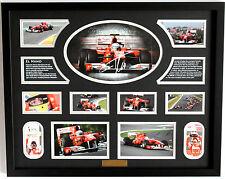 New Fernando Alonso Signed Limited Edition Memorabilia Framed
