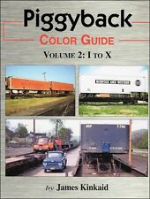 Piggyback Color Guide Volume 2: I to X / Railroad / Trailer on Flat Car
