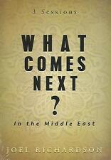 WHAT COMES NEXT IN THE MIDDLE EAST? - DVD by Joel Richardson, 2015  *Brand New*