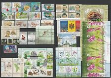 Moldova 2016 Complete year set MNH stamps, blocks, sheets and booklet