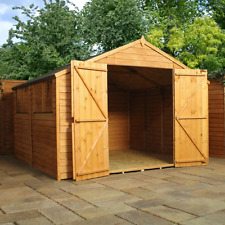Mercia 10x10 Overlap Apex Shed