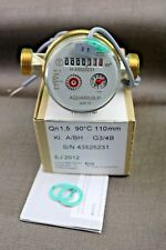 "Honeywell Warm Water Meter Pulse Output Single Jet Potable 3/4"" DN15 Max 90°C"