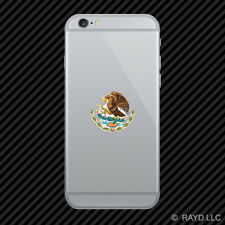 Mexican Coat of Arms Cell Phone Sticker Mobile Mexico flag MEX MX