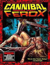 CANNIBAL FEROX Umberto Lenzi BLU-RAY/CD Sealed! MAKE THEM DIE SLOWLY + HOLOCAUST
