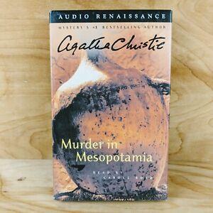 Murder in Mesopotamia by Agatha Christie Audio Book Read by Carole Boyd 2001