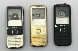 Nokia 6700c Classic original Gehäuse / Cover | silber/schwarz/Gold NEU