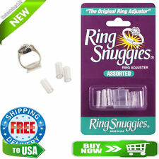Ring Snuggies - The Original Jewelry Ring Guard Adjusters - 6 Assorted Sizes New