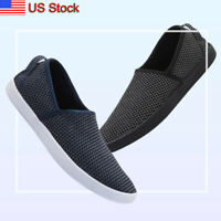 Men's Casual Driving Shoes Flat Slip On Boat Walking Garden Slippers for Parent